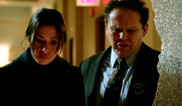 Shaw y Fusco en Person of Interest 3x18