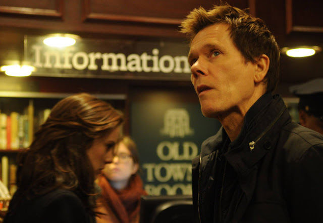 Kevin Bacon como Ryan Hardy en The Following 2x09 Unmasked