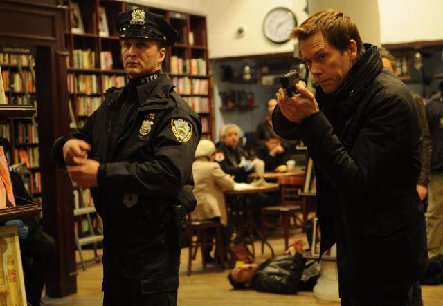 Kevin Bacon como Ryan Hardy en The Following 2x09 Unmasked