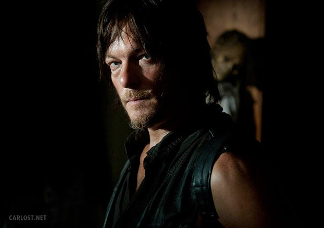 Daryl Dixon (Norman Reedus) en The Walking Dead 4x12 Still