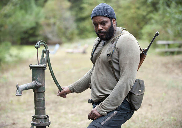 Tyreese (Chad L. Coleman) en The Walking Dead 4x14 The Grove