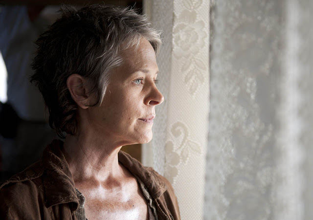 Carol Peletier (Melissa McBride) en The Walking Dead 4x14 The Grove