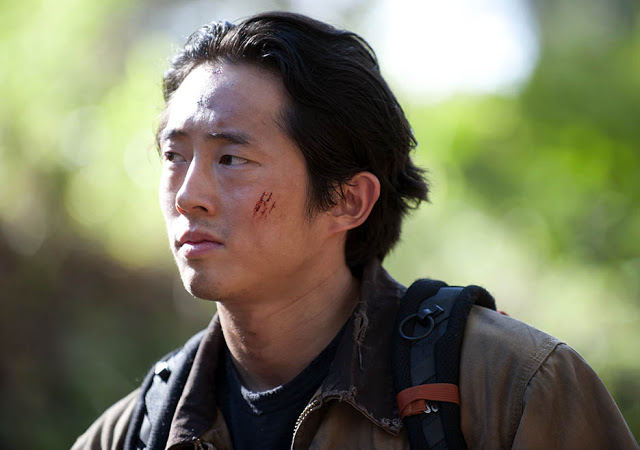 Glenn Rhee (Steven Yeun) en The Walking Dead 4x15 Us