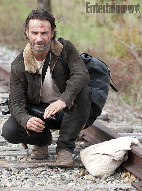 Rick Grimes (Andrew Lincoln) en The Walking Dead 4x15 Us