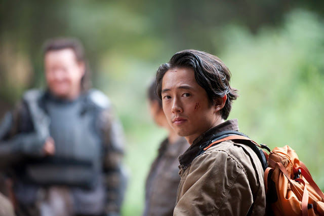 Glenn (Steven Yeun) en The Walking Dead Temporada 4 Capitulo 15 Us