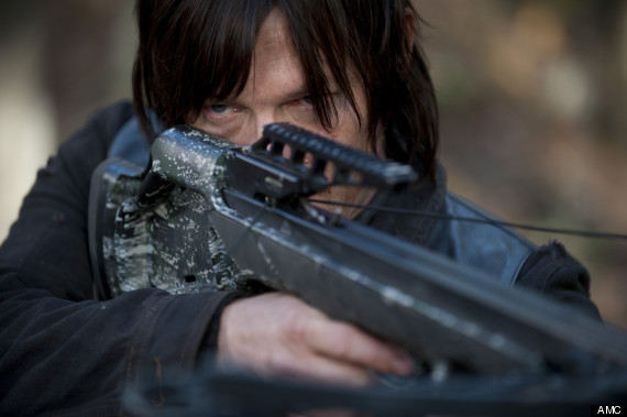 Daryl Dixon (Norman Reedus) en The Walking Dead 4x15 Us