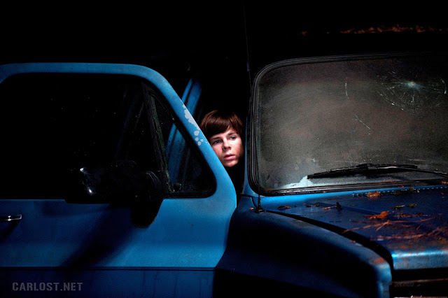 Carl Grimes (Chandler Riggs) en The Walking Dead 4x16 A Season Finale