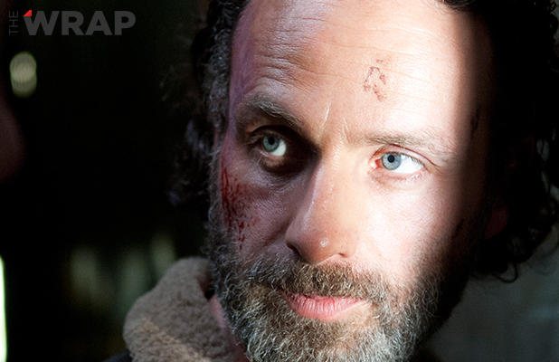 Rick Grimes (Andrew Lincoln) en The Walking Dead 4x16 A Season Finale