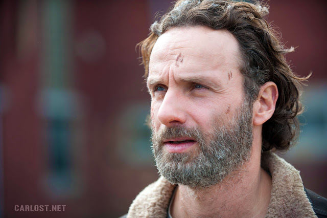 Rick Grimes (Andrew Lincoln) en el final de temporada de The Walking Dead 4x16 A