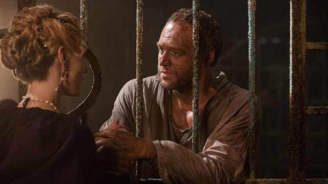 Ippolita (Jeany Spark) y Lorenzo Medici (Elliot Cowan) en Da Vinci's Demons 2x05 The Sun and the Moon