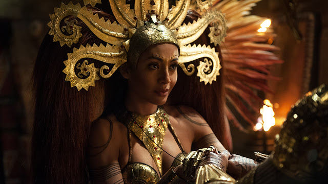 Ima (Carolina Guerra) en Da Vinci's Demons 2x05 The Sun and the Moon