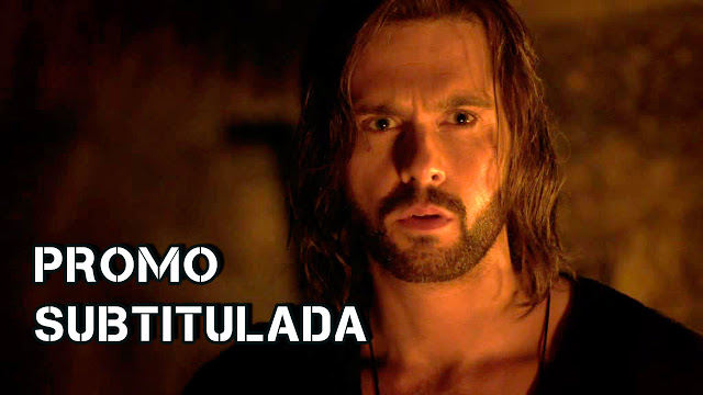Leonardo Da Vinci (Tom Riley) en Da Vinci's Demons 2x06 The Rope of the Dead