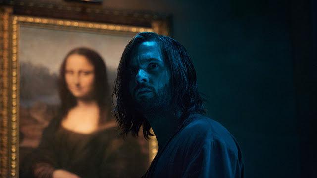 Leonardo Da Vinci (Tom Riley) en Da Vinci's Demons 2x06 The Rope of the Dead