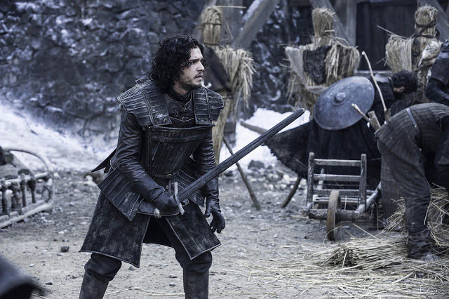 Jon Snow (Kit Harington) en Game of Thrones 4.04 Oarthkeeper