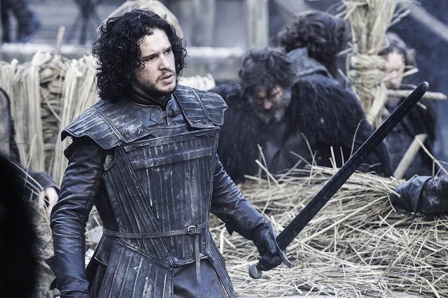 Jon Snow (Kit Harington) en Juego de Tronos 4x04 Guardajuramentos