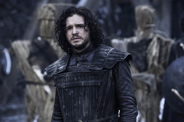 Jon Snow (Kit Harington) en Game of Thrones S04E04 Oarthkeeper