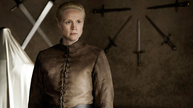 Brienne (Gwendoline Christie) en Game of Thrones 4x04 Oathkeeper