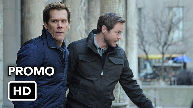Ryan Hardy (Kevin Bacon) y Mike Weston (Shawn Ashmore) en The Following 2x14 Silence