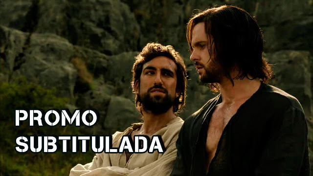 Zoroaster y Leonardo en Da Vincis's Demons 2x07 The Vault of Heaven