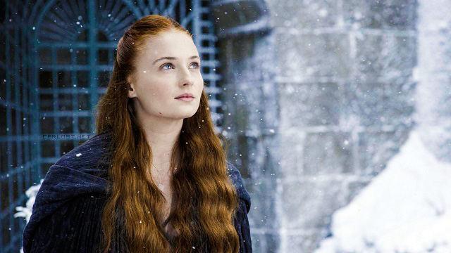 Sansa Stark (Sophie Turner) en Game of Thrones 4x07 Mockingbird