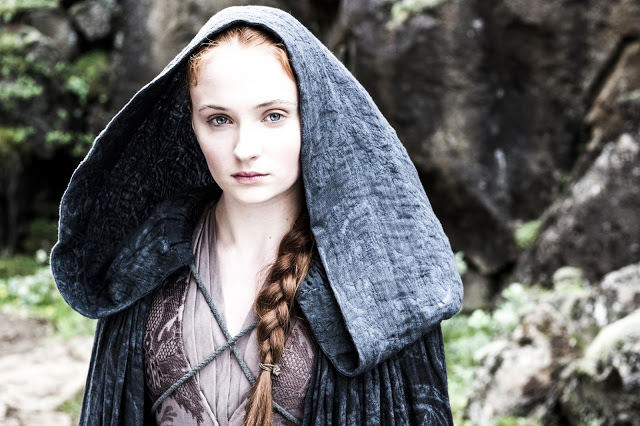 Sansa Stark (Sophie Turner) en Game of Thrones 4x05 First of His Name