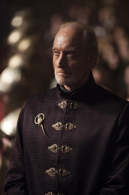 Tywin Lannister (Charles Dance) en Game of Thrones 4x05 First of His Name