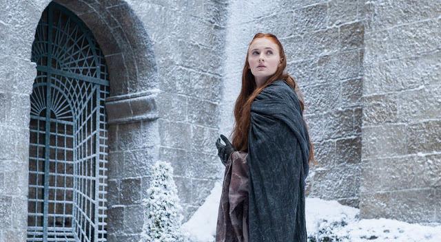 Sansa Stark (Sophie Turner) en Game of Thrones S04E07 Mockingbird