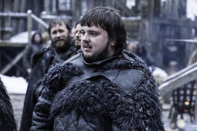 Samwell Tarly (John Bradley) en Game of Thrones 4.07 Mockingbird