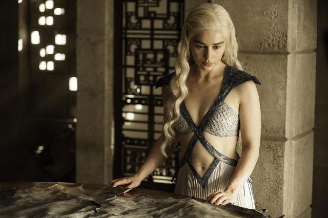 Daenerys Targaryen (Emilia Clarke) en Juego de Tronos 4x07 Mockingbird