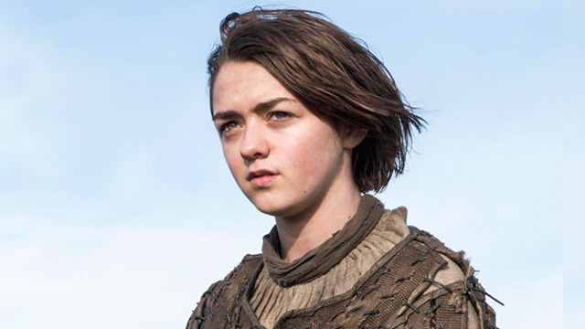 Arya Stark (Maisie Williams) en Game of Thrones 4x10 The Children (Final de Temporada)
