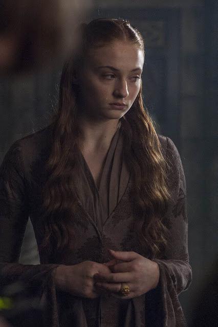 Sansa Stark (Sophie Turner) en Game of Thrones S04E08