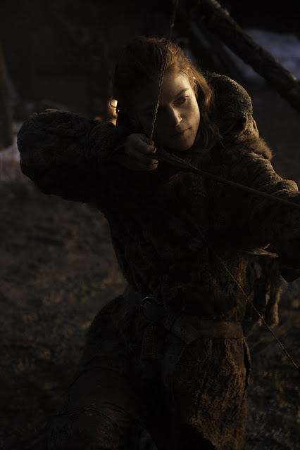 Ygritte (Rose Leslie) en Juego de Tronos 4x09 The Watchers on the Wall