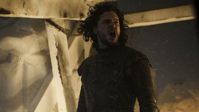 Jon Snow (Kit Harington) en Game of Thrones 4x09 The Watchers on the Wall