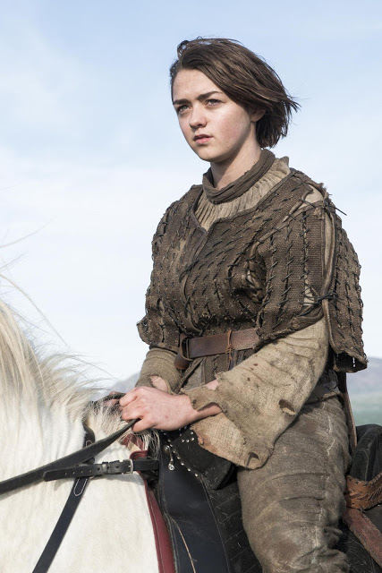 Arya Stark (Maisie Williams) en Juego de Tronos S04E10 The Children (Final de Temporada)
