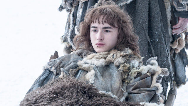 Bran Stark (Isaac Hempstead-Wright) en Game of Thrones 4.10 The Children (Último capítulo)