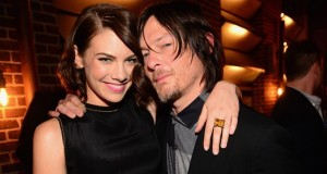 Lauren Cohan y Norman Reedus - Spike TV Guys Choice Awards 2014