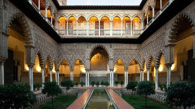 Real Alcázar de Sevilla en España