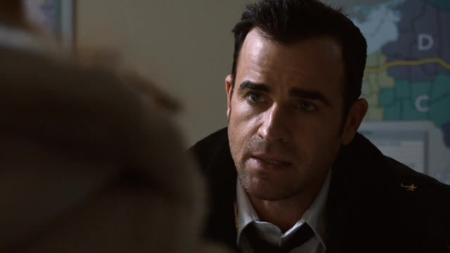 Justin Theroux como Kevin Garvey en The Leftovers 1x04