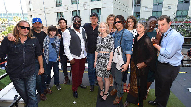 The Walking Dead - Comic Con BBQ