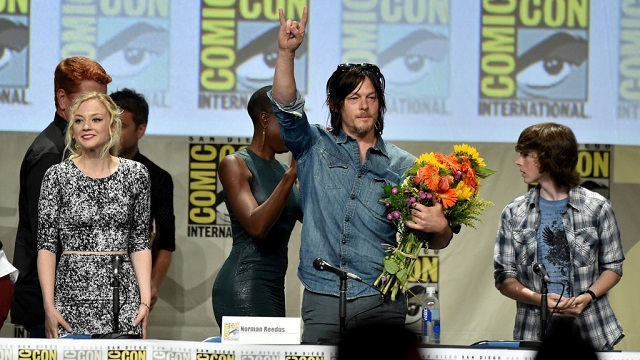 Panel de The Walking Dead en la Comic-Con 2014