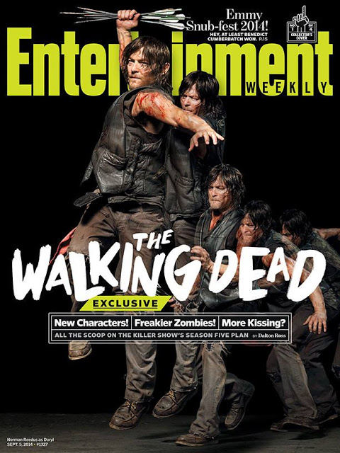 The Walking Dead - Daryl Dixon (Norman Reedus) EW Cover 2014