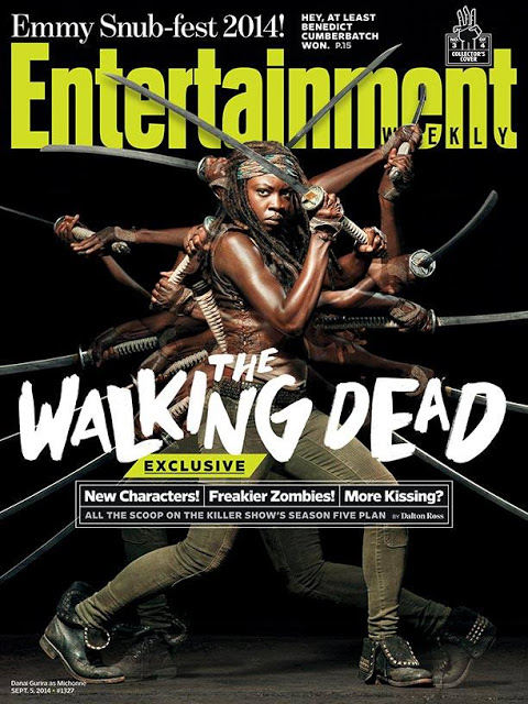 The Walking Dead - Michonne (Danai Gurira) EW Cover 2014