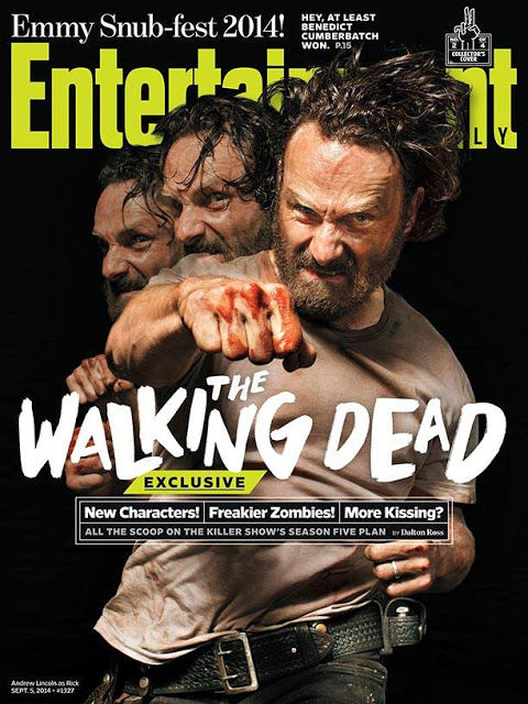 The Walking Dead - Rick Grimes (Andrew Lincoln) EW Cover 2014