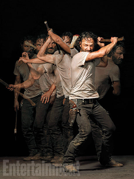 The Walking Dead Rick Grimes (Andrew Lincoln) - EW Photoshoot 2014
