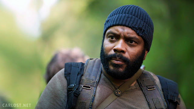 Tyreese (Chad Coleman) en The Walking Dead 5x01