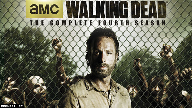 The Walking Dead: DVD & Blu-ray de la Temporada 4