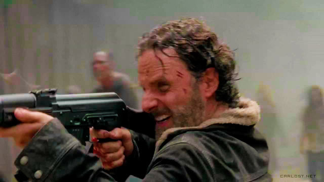 Rick Grimes (Andrew Lincoln) - The Walking Dead 5x01 No Sanctuary