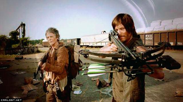 The Walking Dead - Carol & Daryl (Caryl)