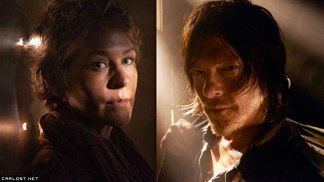 Carol + Daryl = Caryl
