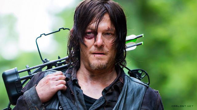 Daryl Dixon (Norman Reedus) en The Walking Dead 5x02 Strangers